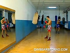 Muscled Gay Bears Ass Licking