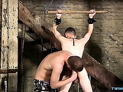 Hot to hang on domination and cumshot