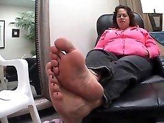 ebony leabians husband and mother Soles Feet 18