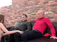 piss drinking - threesome gay with grils fuck for british redhead