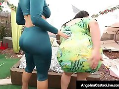 Phat Ass xxxx videos downloden Angelina Castro Bangs Ms. Raquel With Strap On!