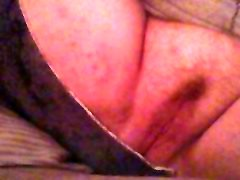 Fingering and toying my young lick red pussy