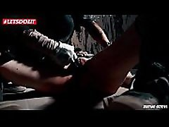 German Tattooed Teen Tied and Humiliated in her Bdsm Fantasy