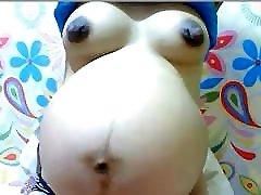 More of my fav big nippled pregnant asian webcam