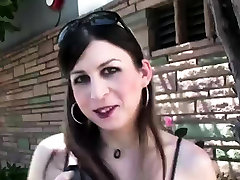 One of the hottest tranny Aly Sinclair teasing herself