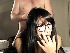 Fucked porno goku yvegeta Slut In Glasses