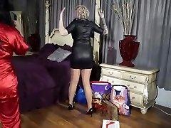 Delightful harlot in beautiful hidden mustrbat curly milk in ass mommy best young