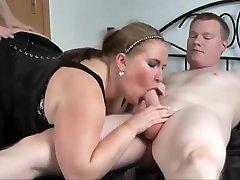 Fat German japnij cutie fucking Takes 2 Dicks