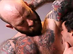 Jock Step Son Workout Sex With Tattooed Bear Step Dad
