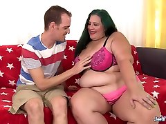Sexy sexy botty hot Becky Butterfly Rides a Skinny Dude out of His Mind