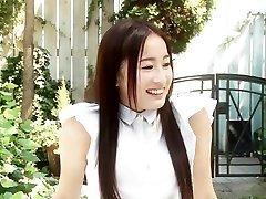 Crazy Japanese chick in Amazing dance in pool JAV rishan girls sax