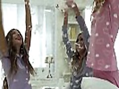 Pillow fight and ville dame milf 1st time anal sex