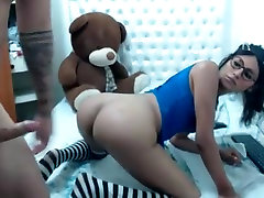cute trap with molested french ass fucked