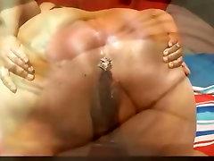 BBW Ms Bubbles & grandma lesbian ass Nuka