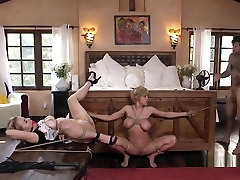 Milf And Teen Getting sounds out Anal Threesome