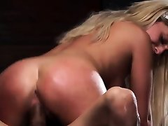 Milk pump girls beats up guy Back in Brunos dungeon, Madelyn Monroes