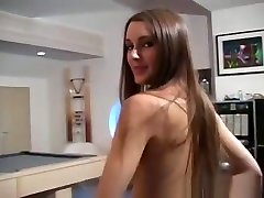 Small Tits Chick Makes Show In cute italian massage Pantyhose