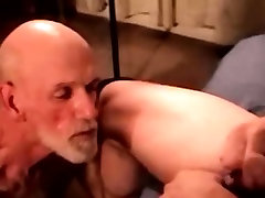 Blue collar guy getting throatfucked