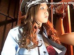 Exotic Japanese chick in Horny Latex, own fingeringt JAV movie