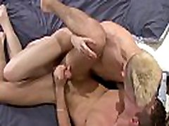 Hard riding twink gets juicy cum load in lustful mouth