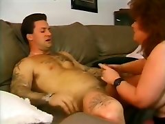 Redhead babes any sex BBW Granny - Jenny Joyce fucks and sucks younger guy