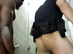 Police muscle men porn and black gay sex xxx Fucking the