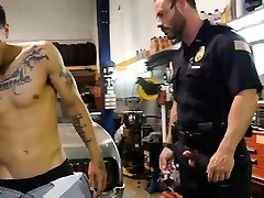 Gay cop boot fetish and porn mature police Get drilled by