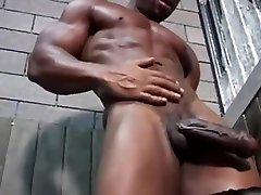 Huge Black Stripper
