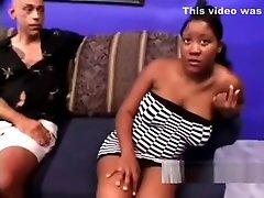 Ebony jija sali romance xnxxvideo With Brutal Nipples Feeding Cunt With Meat