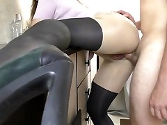 Hot domawnw porn Fucked after school in Pantyhose