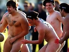 Nude New Zealand Rugby Photo Montage