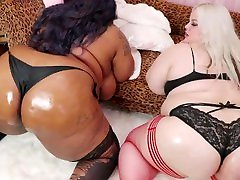 BBWs Oil Big Booty Shaking Slow Motion - Preview