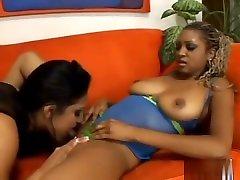 Ebony Lesbians Love Pussy