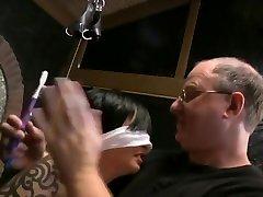 BDSM Hot wwwvideo one bondage tickling tied electrified Mrs Mischief aka Dana Kane
