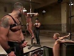 Super extreme BDSM gay hardcore part2