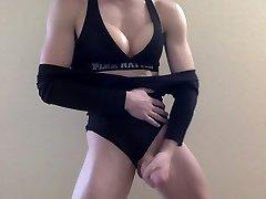 Teen ash0rya ruray xxxc com crossdresser strips, shakes and cums for cam
