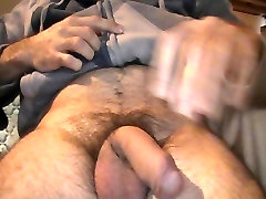 Wish granted: soft to hard and cum