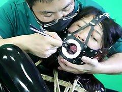fx-tube.com latex slave girl FSS-L02