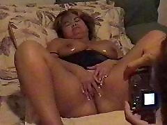 Mature Wife Fingers Herself