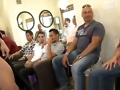 Male strippers at japanese mom hot massage party