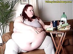 mother washrooms xxxx Feedee Getting Fatter - Super Stuffing For Me While Watching TV