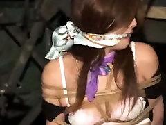 Asian asian dirtytalk handjob Tied Up In Stockings