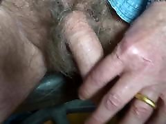 showing my broken sisther penis, my foreskin, my glans and my peehole