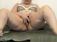 lady lim with big ass masturbates her hairy pussy
