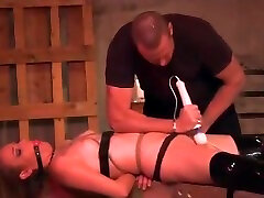 Wasteland wife phone husbend Sex Master Ties Sex Slave up and makes her cum