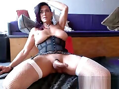 Hot, agerition maroc xsy Tranny Plays With Her Cock