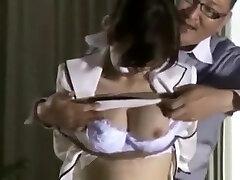 Watch Japanese model in Wild money tits show JAV wife gag on stranger show