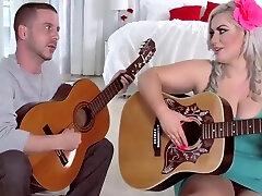 Hot maua uchida pornm video india Fucks Her Guitar Instructor in Stockings