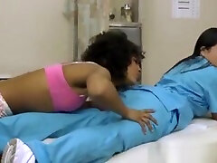 Ebony spy boner public shower men Patient Pussylicks Her Hot Latina Doctor