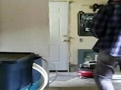 Chubby slut degrades self for rent